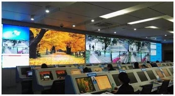 液晶拼接屏入驻江北区行政服务中心